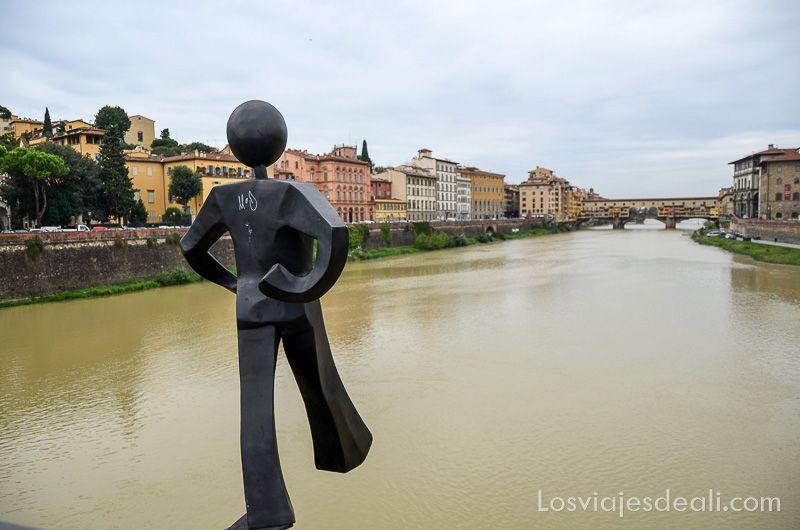 florencia puentes del arno escultura