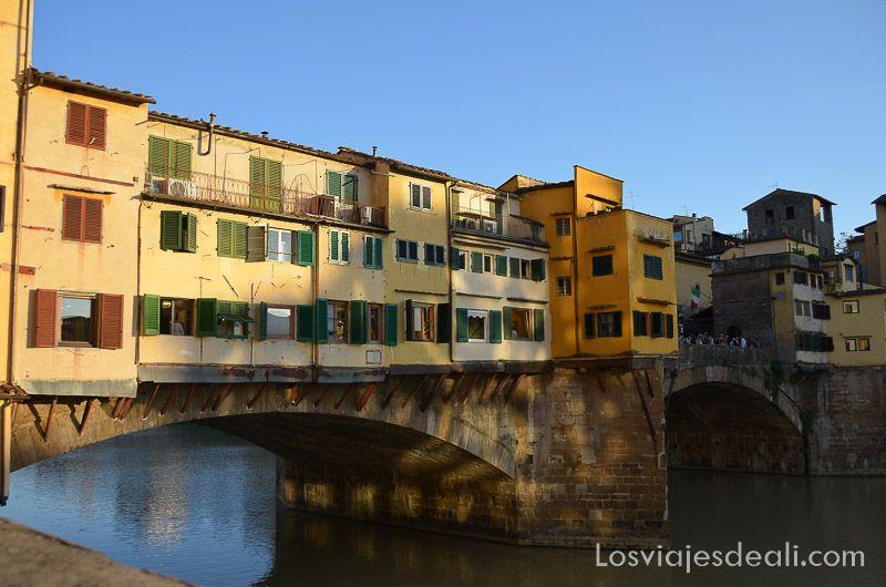 florencia puentes del arno ponte vecchio
