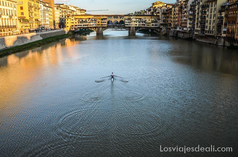 puentes del arno florencia italia