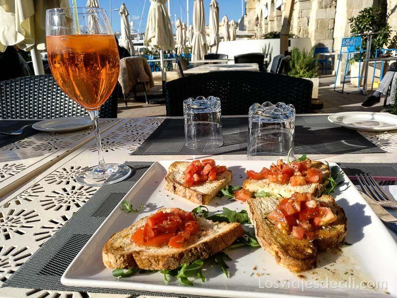 viaje a Malta gastronomía