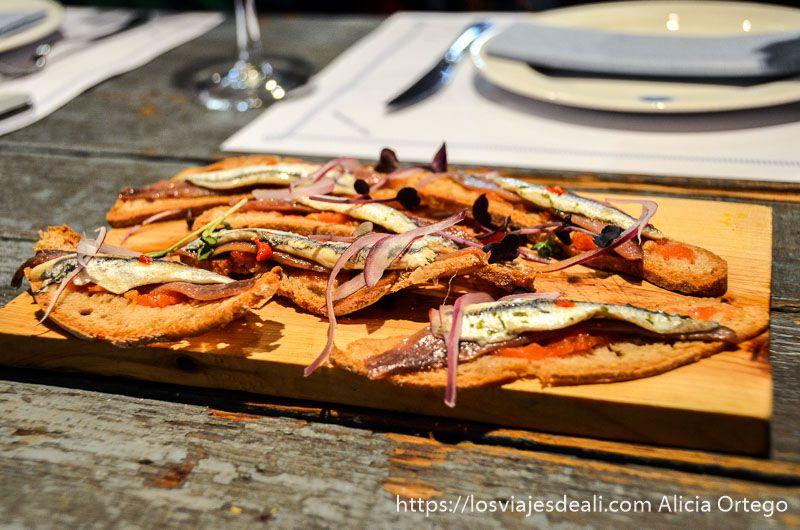 comer en palma de mallorca sardinas