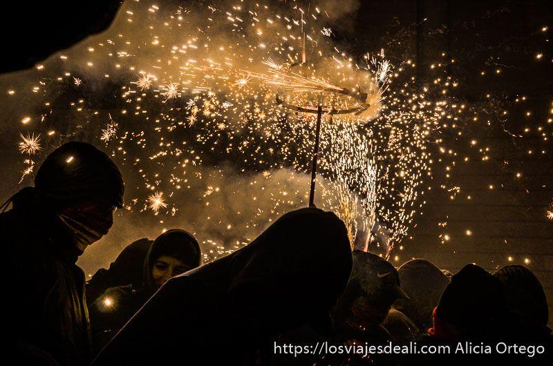 fiestas en palma bajo el fuego