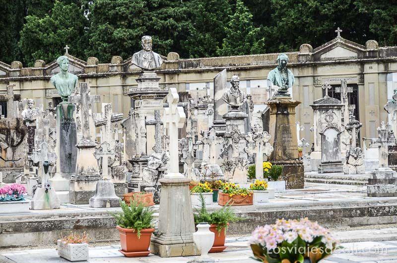 paseo por florencia cementerio puerta santa