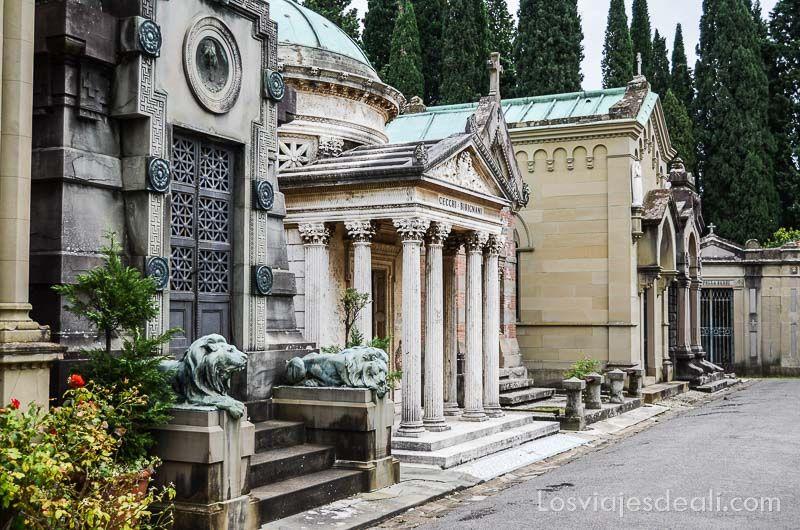 paseo por florencia cementerio puerta santa panteones