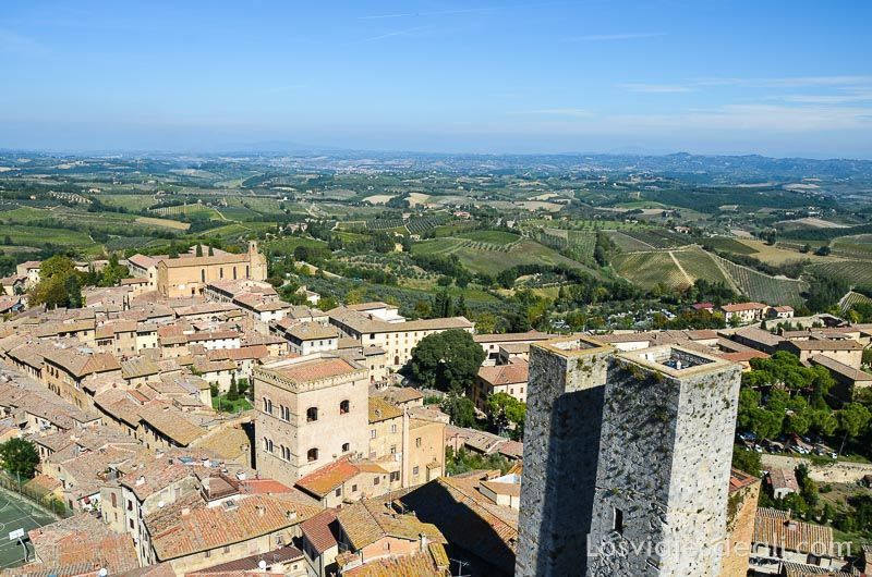 san gimignano vistas desde torre
