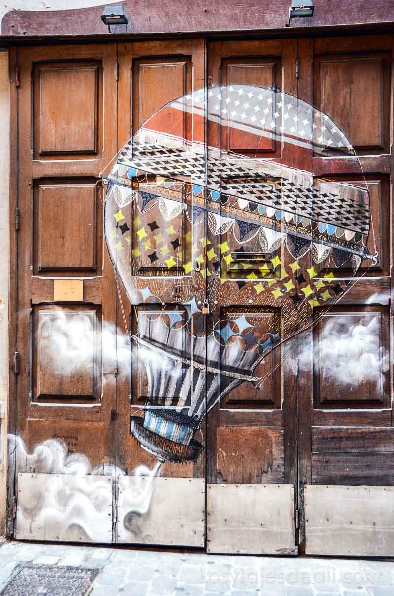 streetart en palma de mallorca en invierno