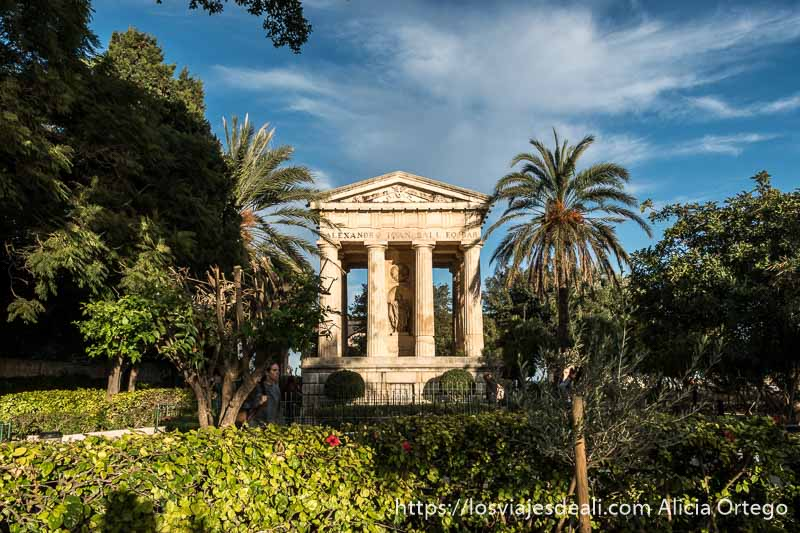 Lower Barrakka Gardens en La Valeta