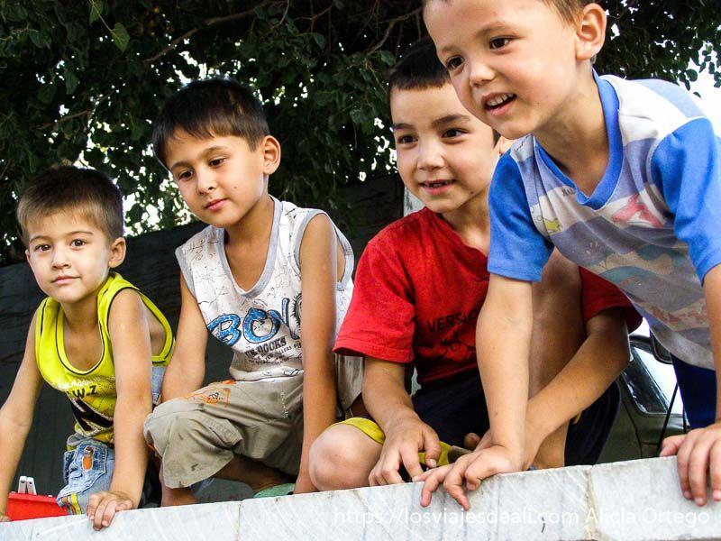 niños de Samarcanda