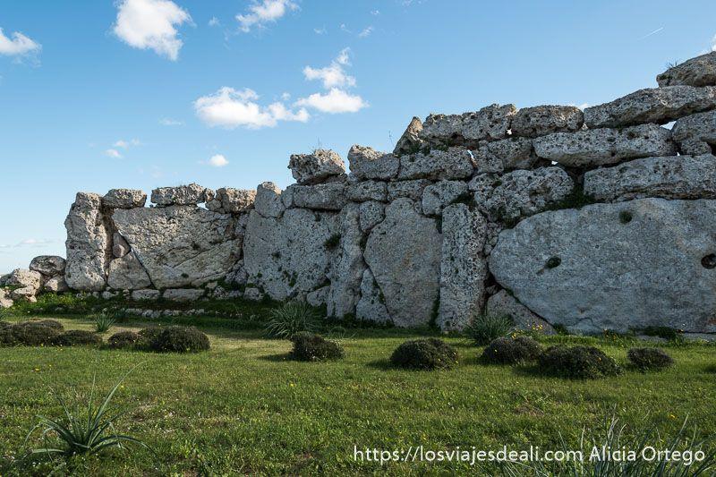 arqueologia en malta muros de ggantija