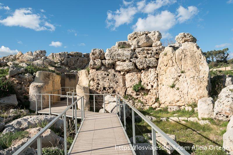 arqueologia en malta yacimiento ggantija