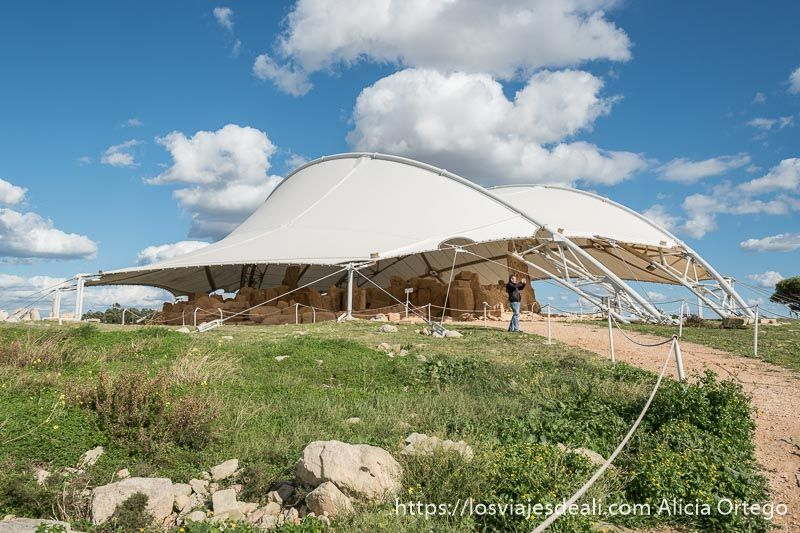 arqueologia en malta templos de hagar qim