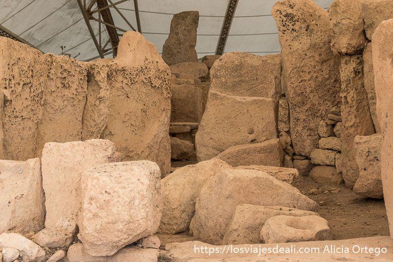 arqueologia en malta templos de mnajdra