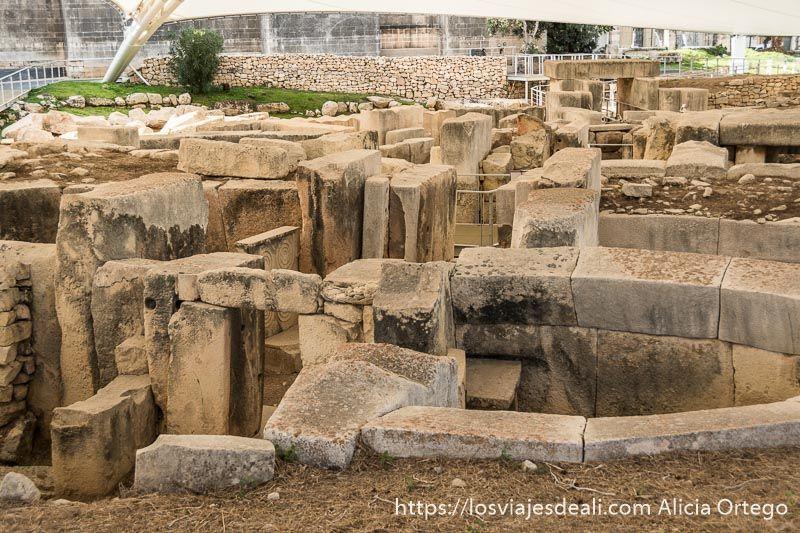 arqueologia en malta templos de tarxien