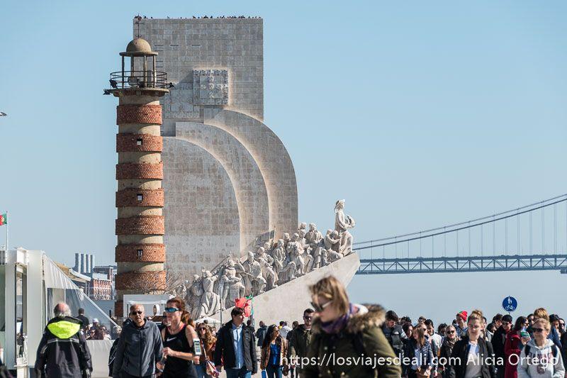 Lisboa en 20 fotos monumento descubrimientos