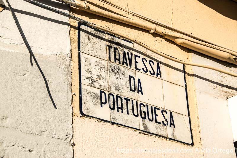 Lisboa en 20 fotos rua