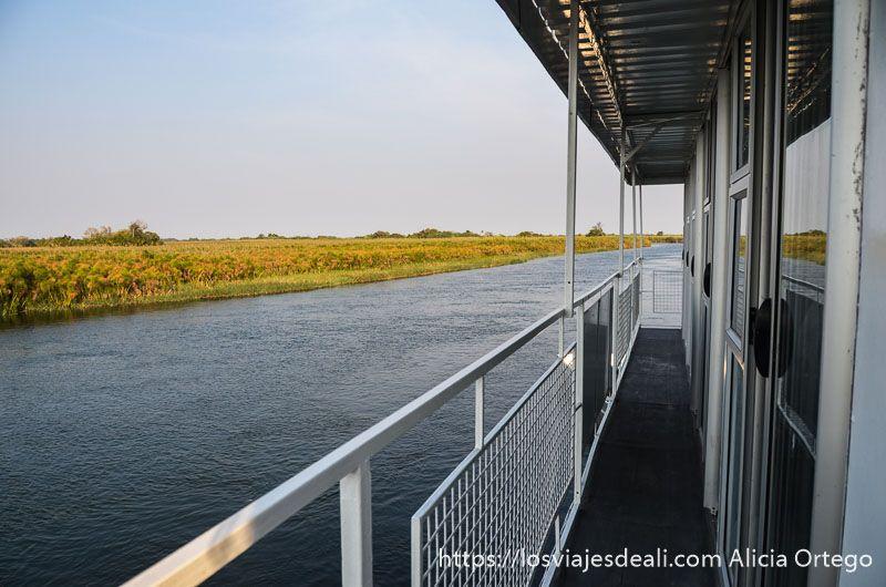 paisaje del delta del okavango