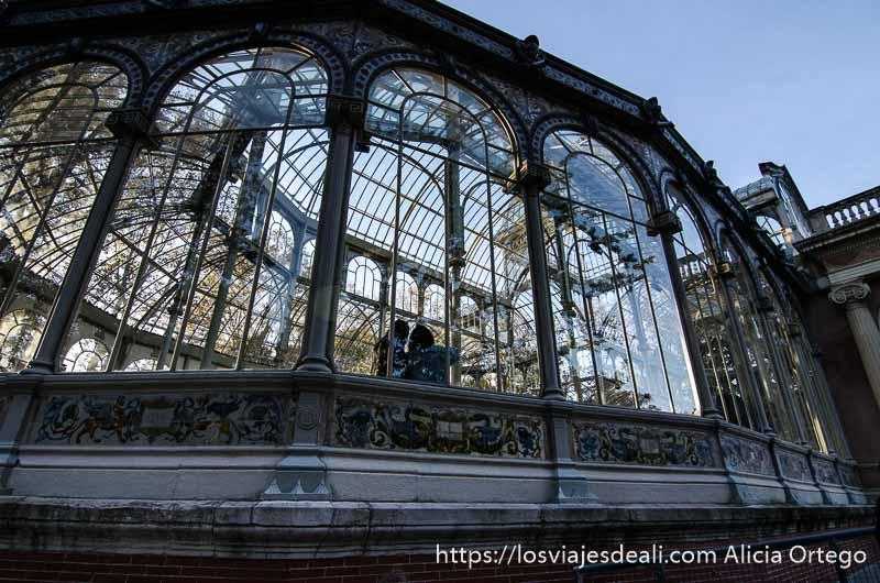 guía del retiro palacio de cristal