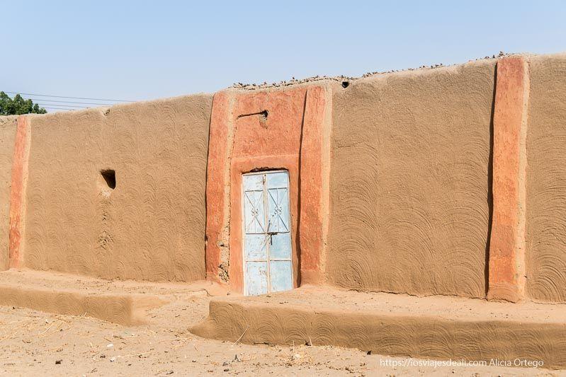 casa nubia en Soleb Sudán