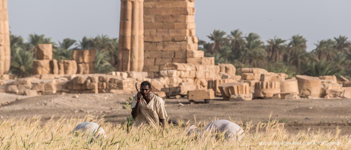 Sudán yacimiento de Soleb