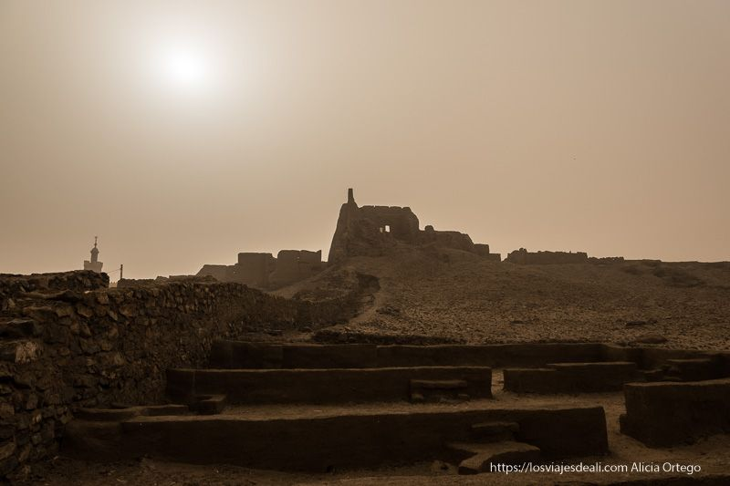 primer día en Sudán fortaleza de Al Khandaq