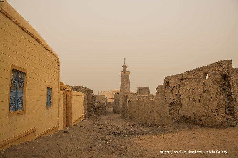 primer día en Sudán visitando al khandaq