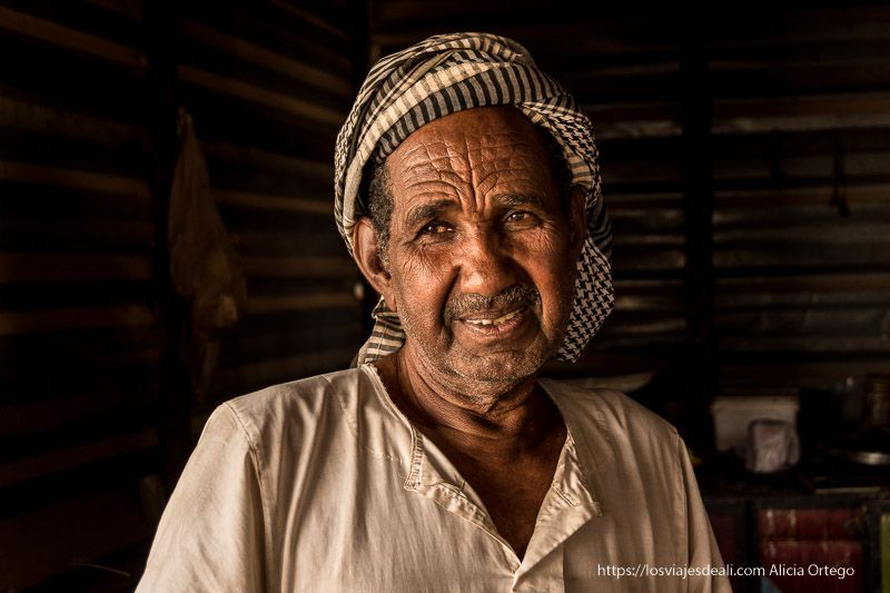 retrato de Sudán