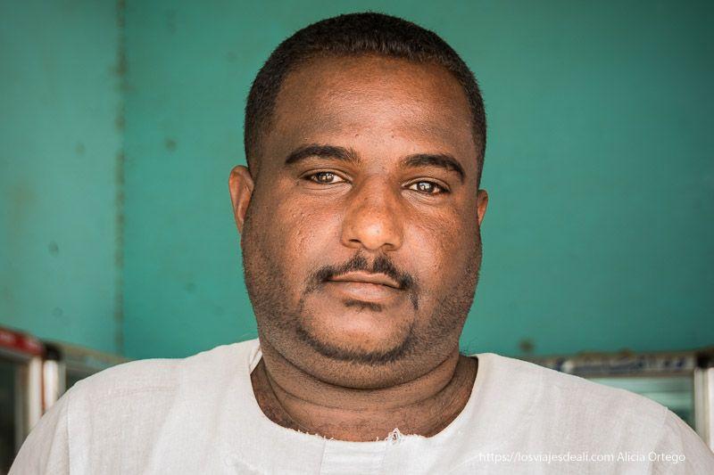 retratos en el primer día en Sudán