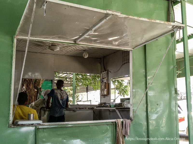 kiosco de zumos de Kerma guía de viaje a Sudán