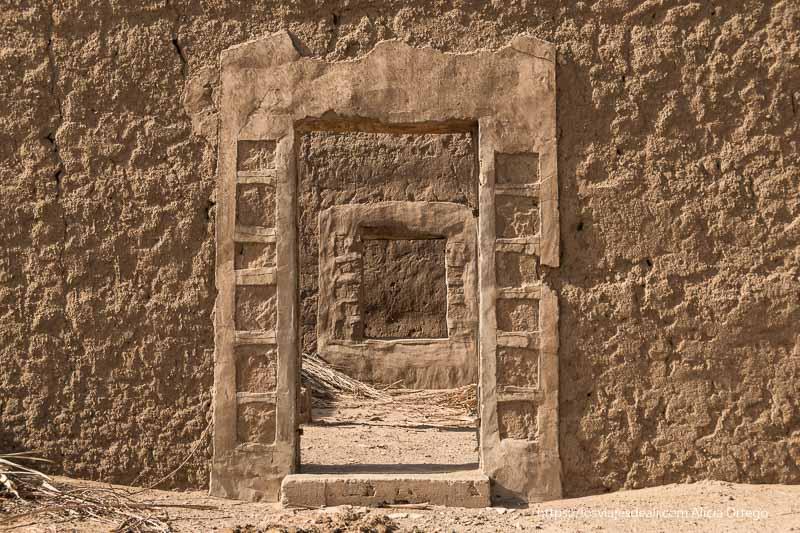 ruinas de una mezquita que fue iglesia