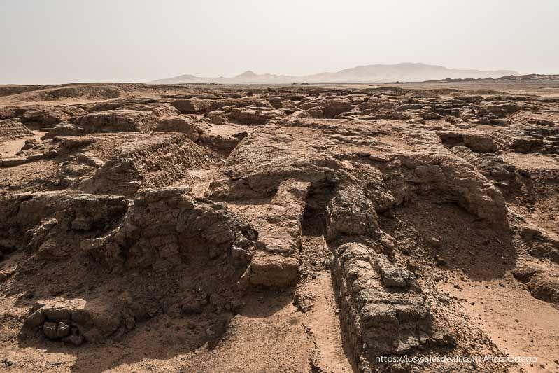 necrópolis de Sedeinga en Sudán con restos de pirámides