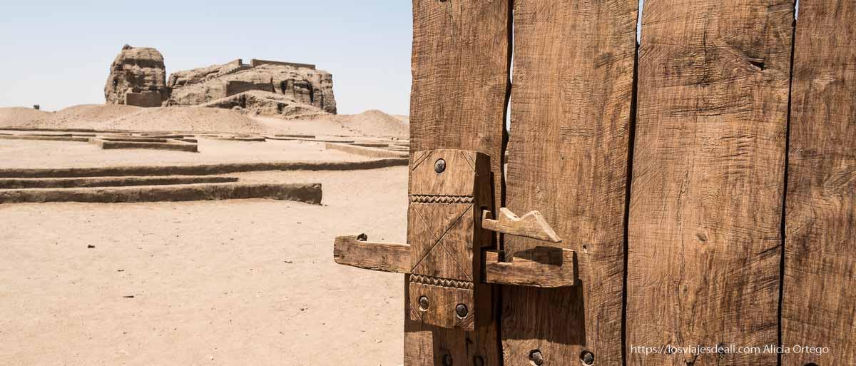 yacimiento de la antigua civilización de kerma
