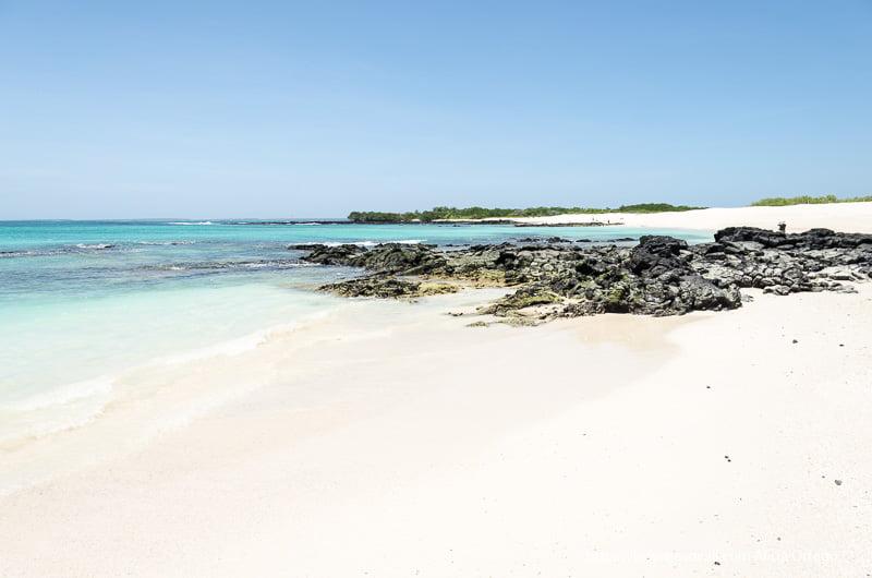 playas bachas con su arena blanca y aguas de mil tonos
