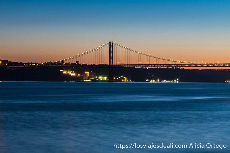 puente 25 diciembre lisboa en un fin de semana