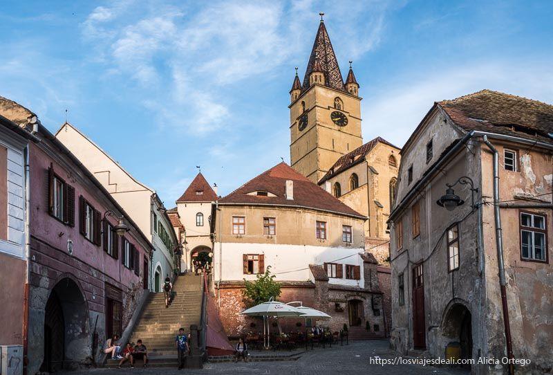calles de Sibiu primeras impresiones de un viaje a transilvania