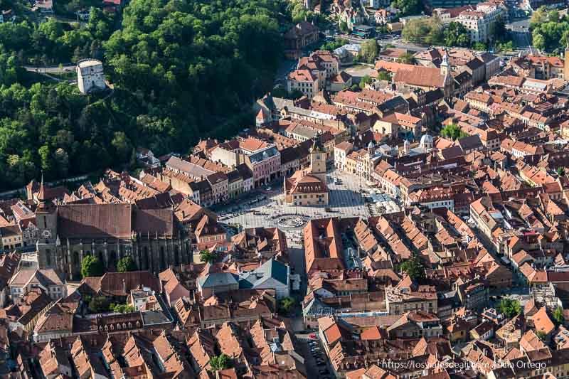 Brasov desde las alturas primeras impresiones de un viaje a transilvania