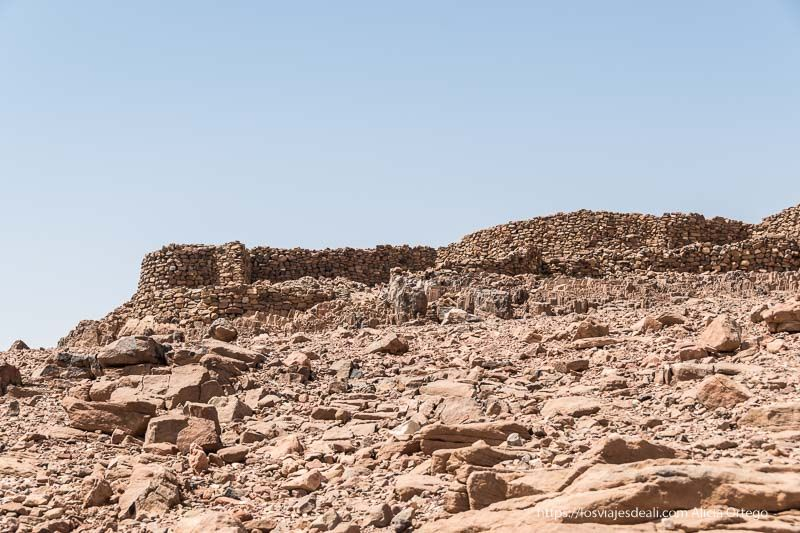 fortaleza cristiana junto a la tercera catarata del Nilo