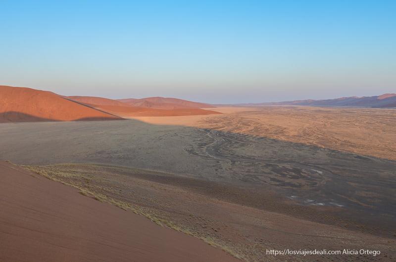paisaje del amanecer desde la duna 45