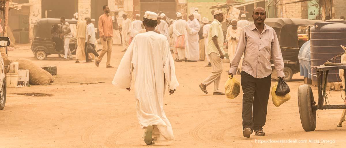 gran tormenta de arena en Sudán