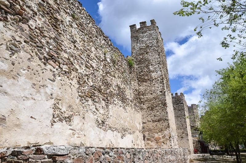 murallas de Coca en pueblos de segovia