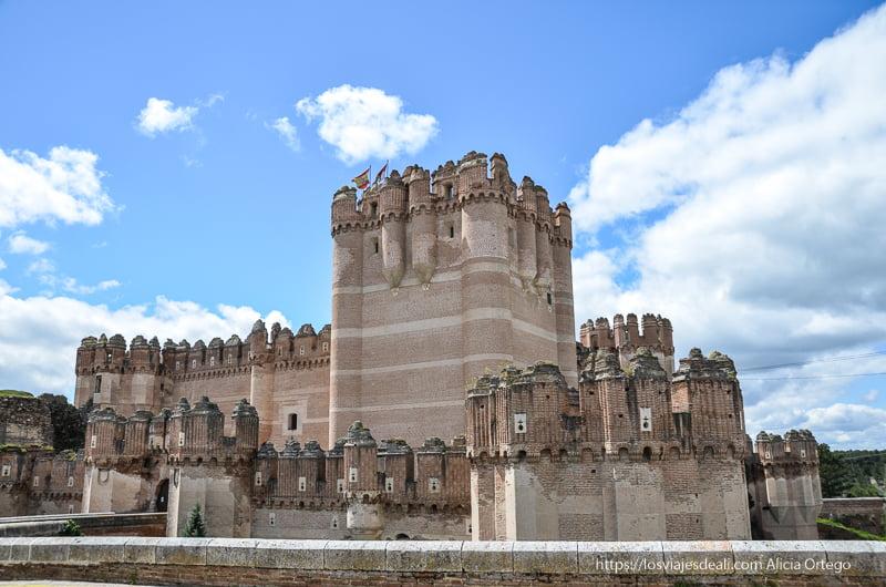 castillo de Coca pueblos de segovia