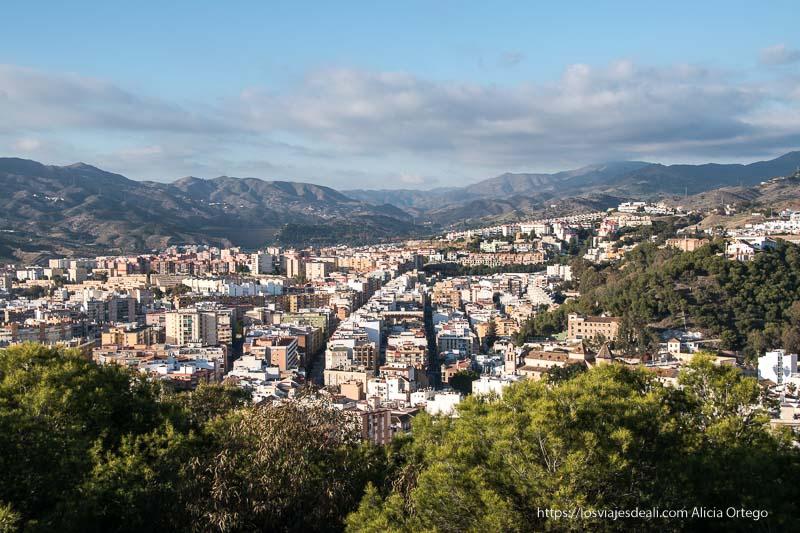 vistas desde el castillo visitas imprescindibles en Málaga