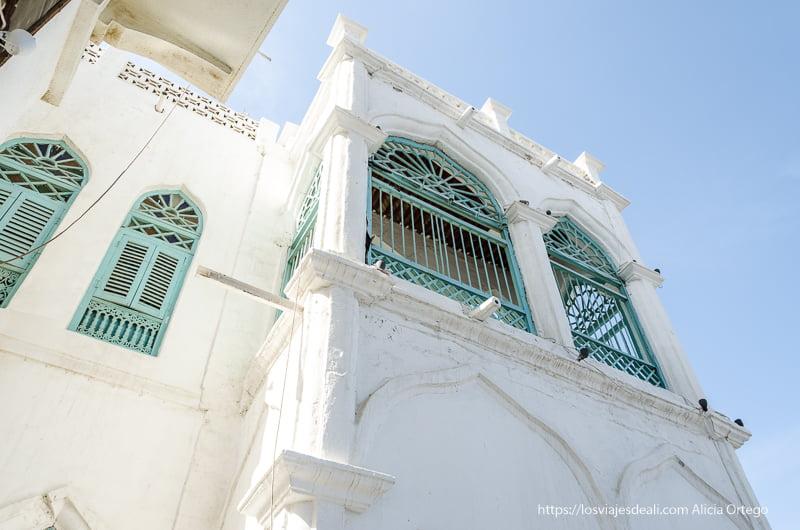 casa antigua de mercaderes en Muscat
