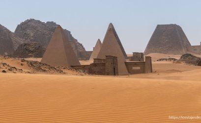 pirámides de Meroe