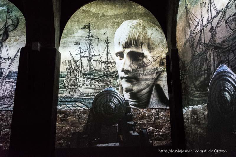 imágenes del visual del centro de visitantes de Gozo con barcos