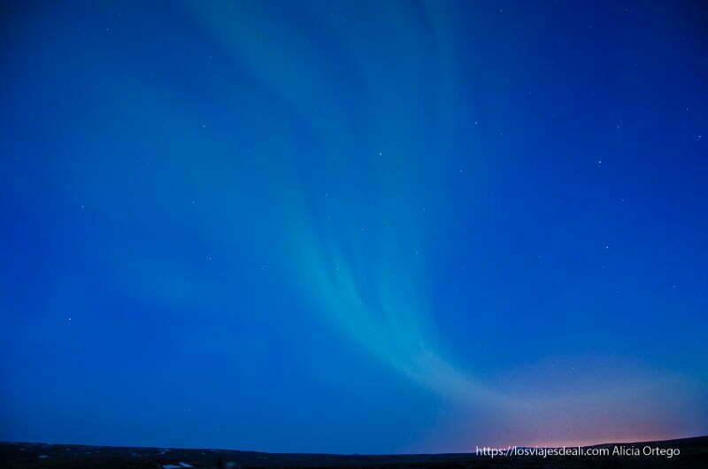 fotografiando auroras boreales en islandia