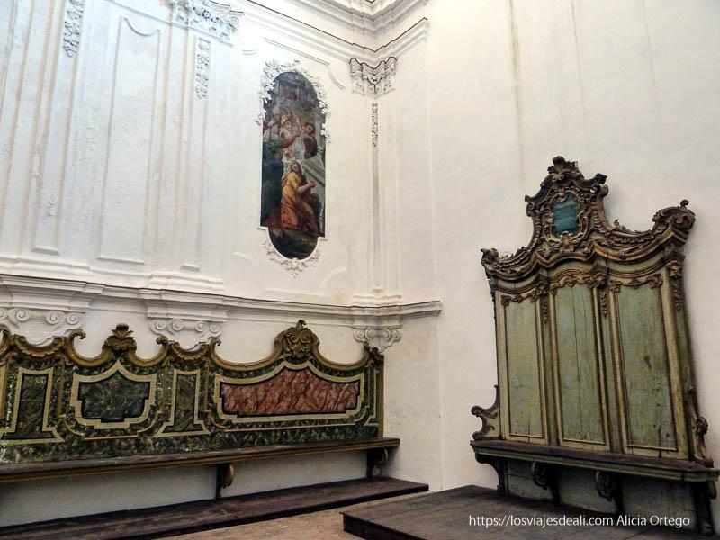 sacristía de iglesia de érice