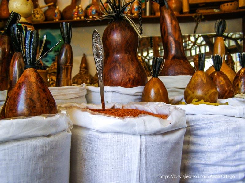venta de azafrán en bukhara
