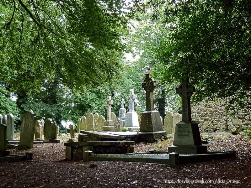 cementerio de kells castillos en irlanda