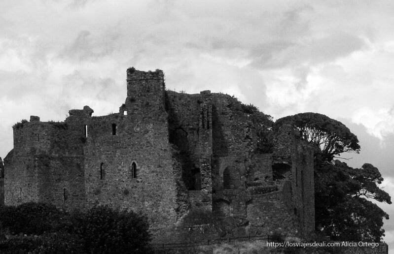 castillo de carlingford en costa este de irlanda