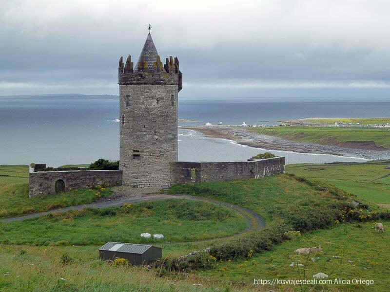 castillo junto al mar el burren